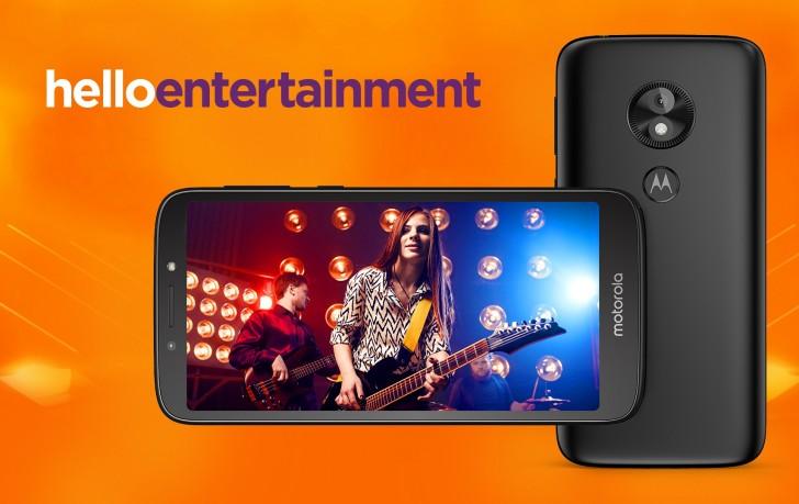 Представлен дешевый смартфон Moto E5 Play
