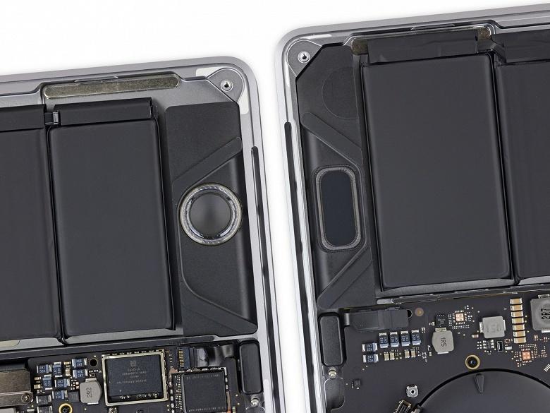 Apple MacBook Pro 13 по версии iFixit: намного увеличившийся аккумулятор и почти полная неремонтопригодность