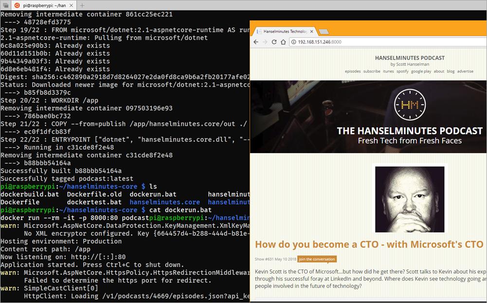 .NET Core + Docker на Raspberry Pi. А это законно? - 4