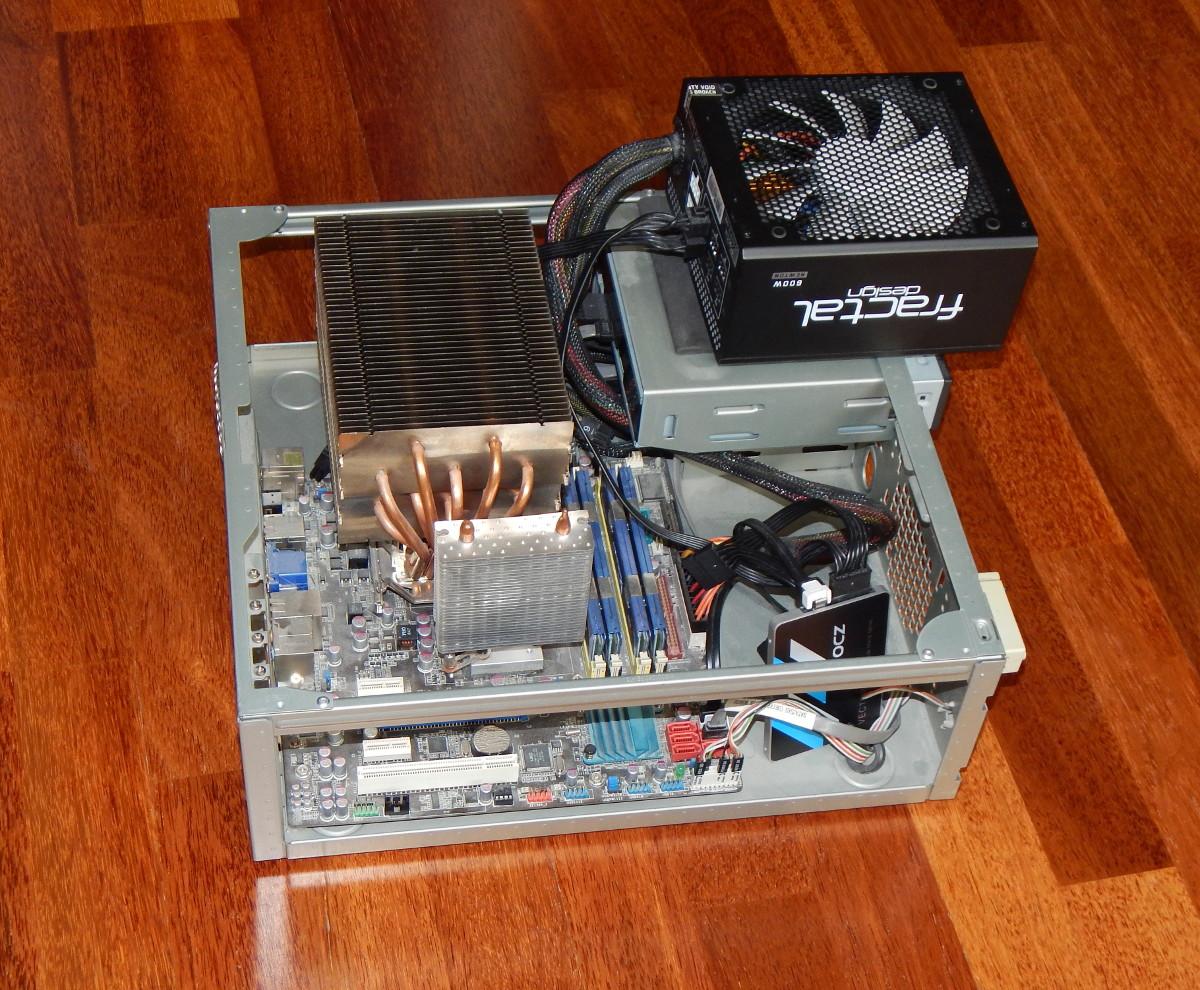 Бесшумный компьютер дома. Мой опыт - 4