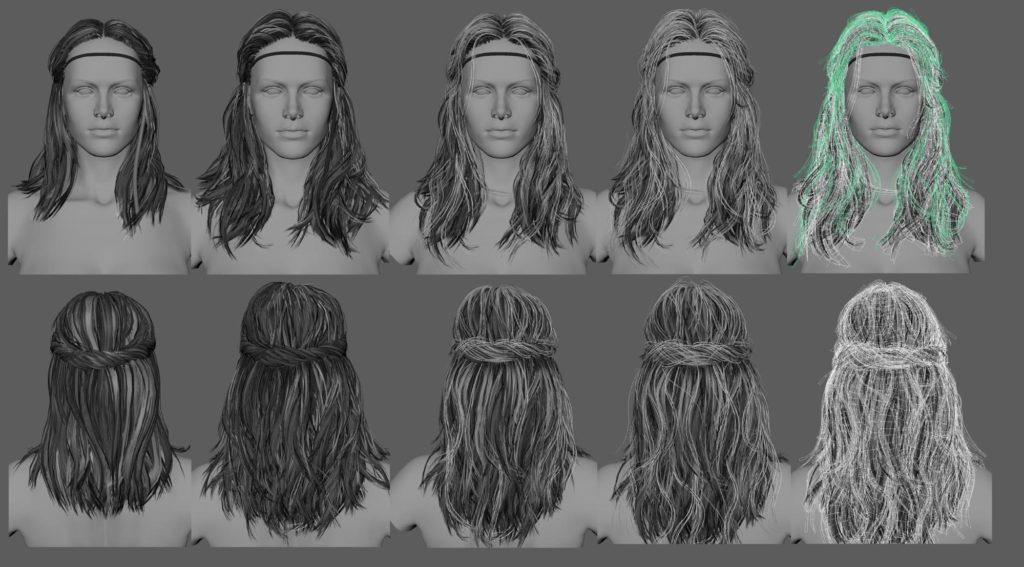 Дисней представила собственную систему анимации волос HairControl - 3