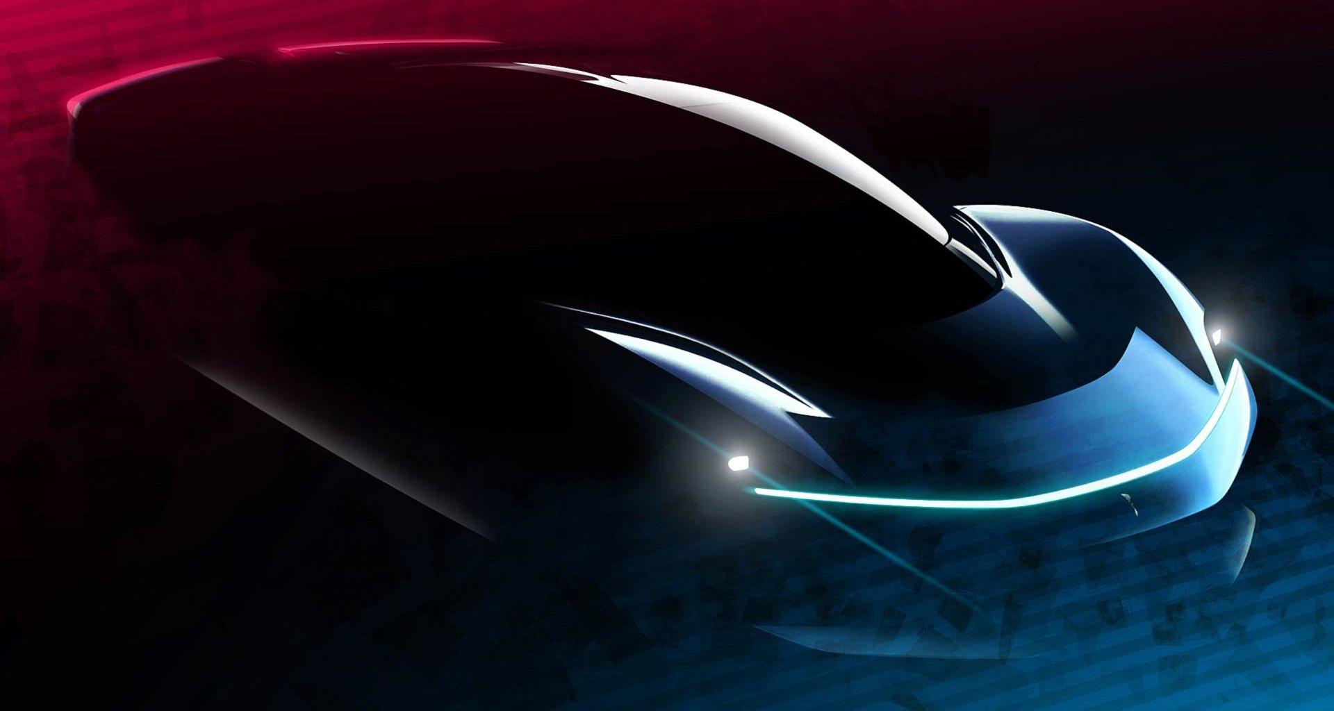 Электрический гиперкар Pininfarina: официальные изображения