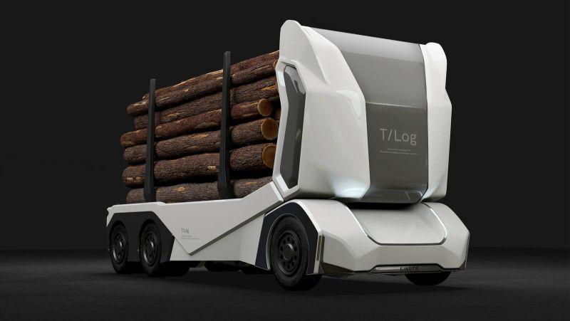 Шведы показали грузовик, у которого нет кабины (фото) - 2