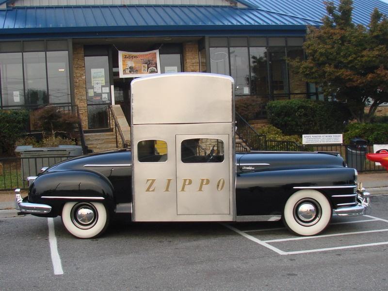 Удивительная история автомобиля-зажигалки: Zippo Car