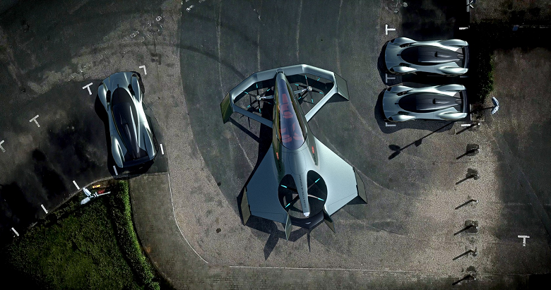 Фотогалерея дня: летающий автомобиль Aston Martin