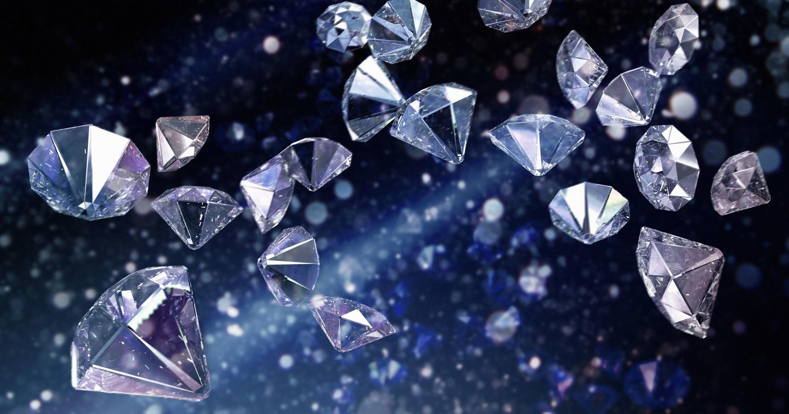 Под землей найдены квадриллионы тонн алмазов