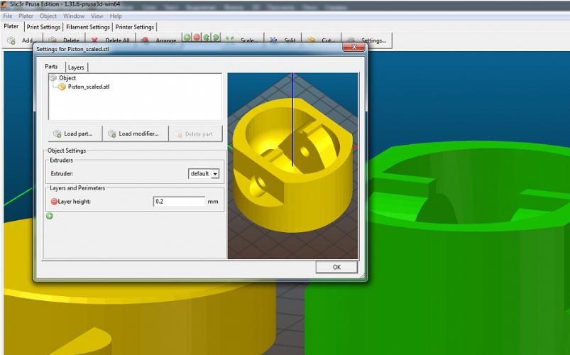 Уроки 3D печати. Печать деталей с разной толщиной слоя от 3Dtool - 1