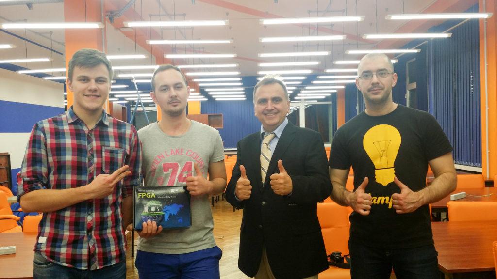 Российские и украинские команды взяли верх над европейцами на европейском финале интеловского конкурса InnovateFPGA - 7