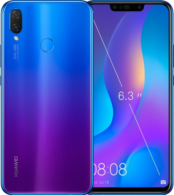 Huawei Nova 3i: смартфон с 4 камерами и большим экраном за 0