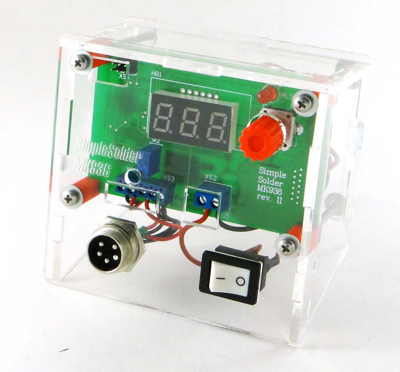 Simple Solder MK936 SMD. Паяльная станция на SMD-компонентах своими руками - 14