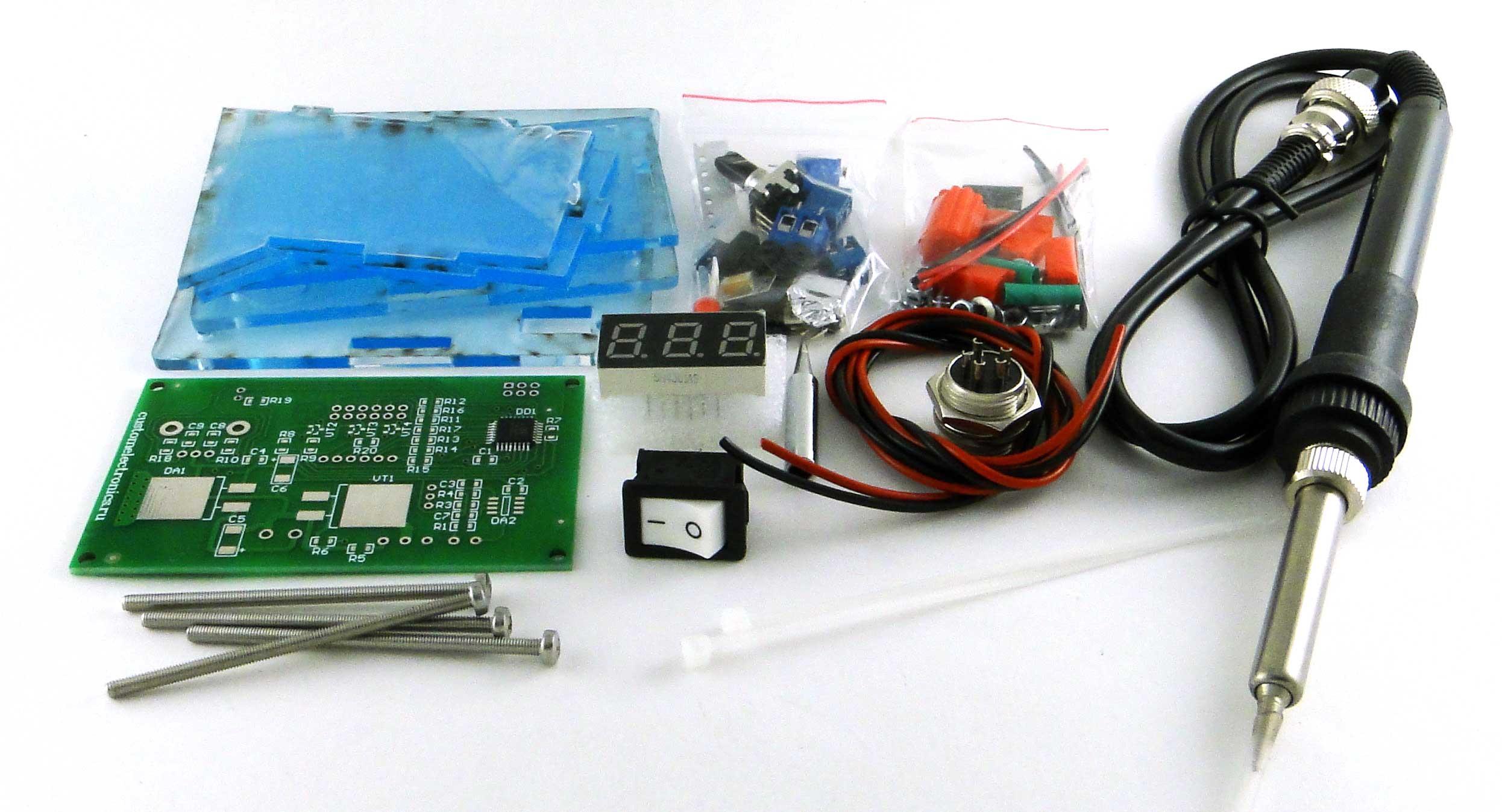 Simple Solder MK936 SMD. Паяльная станция на SMD-компонентах своими руками - 4