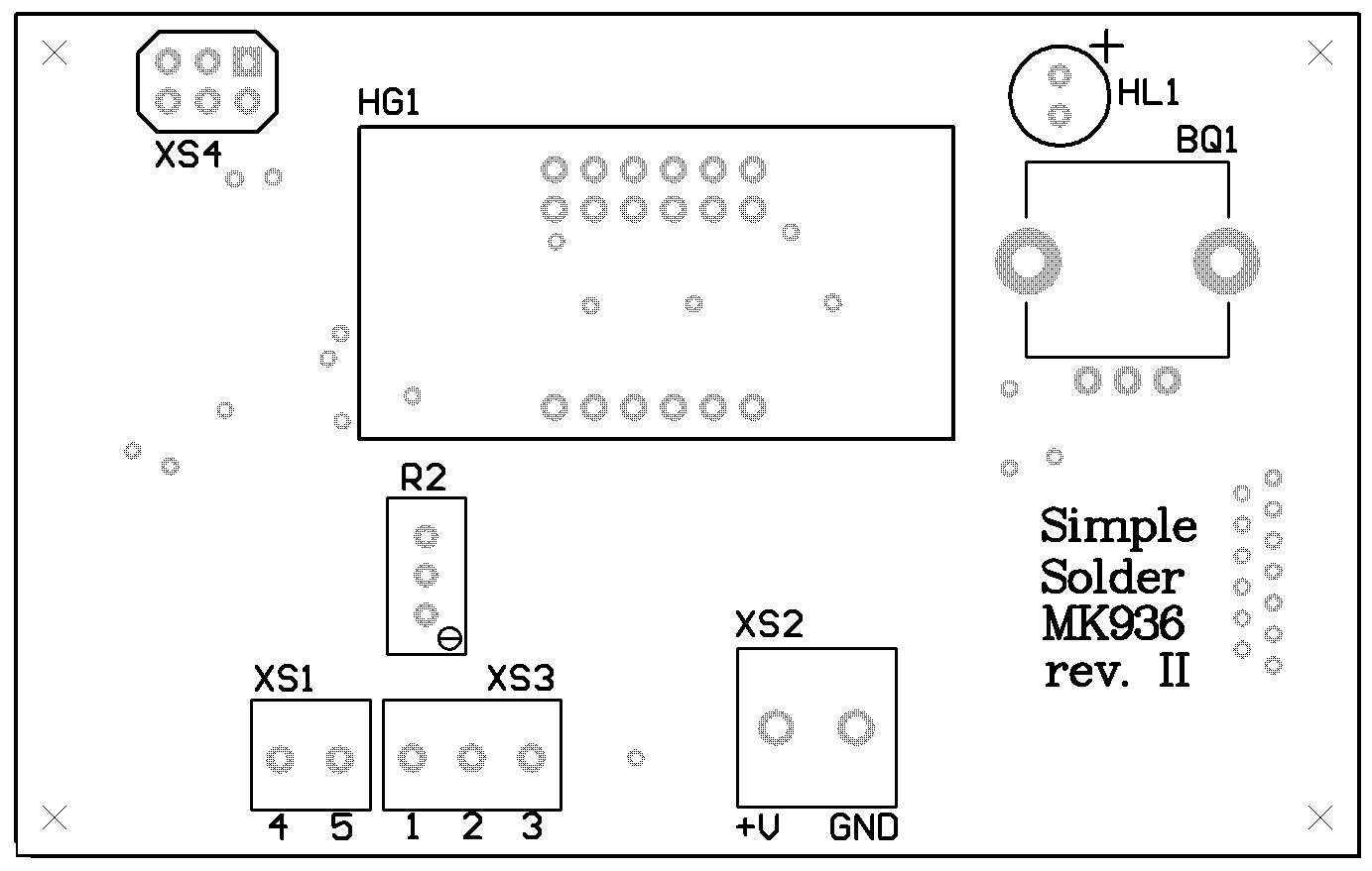 Simple Solder MK936 SMD. Паяльная станция на SMD-компонентах своими руками - 5