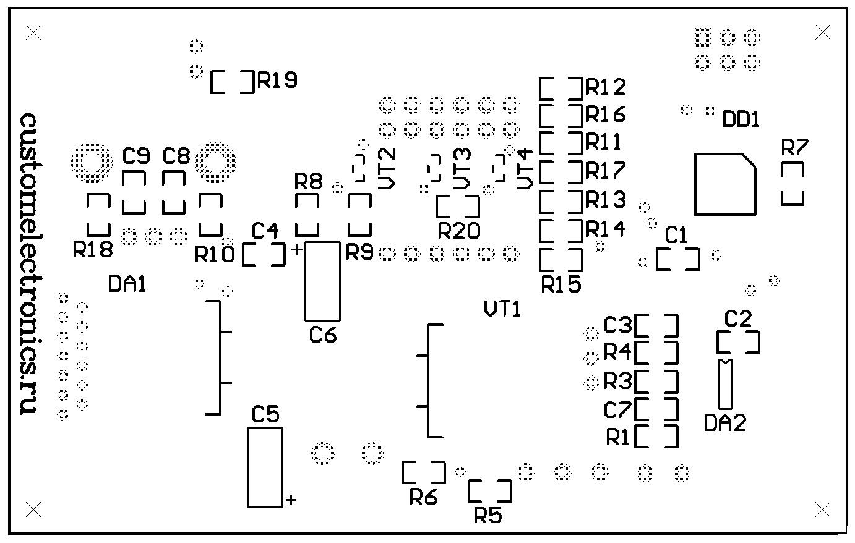 Simple Solder MK936 SMD. Паяльная станция на SMD-компонентах своими руками - 6