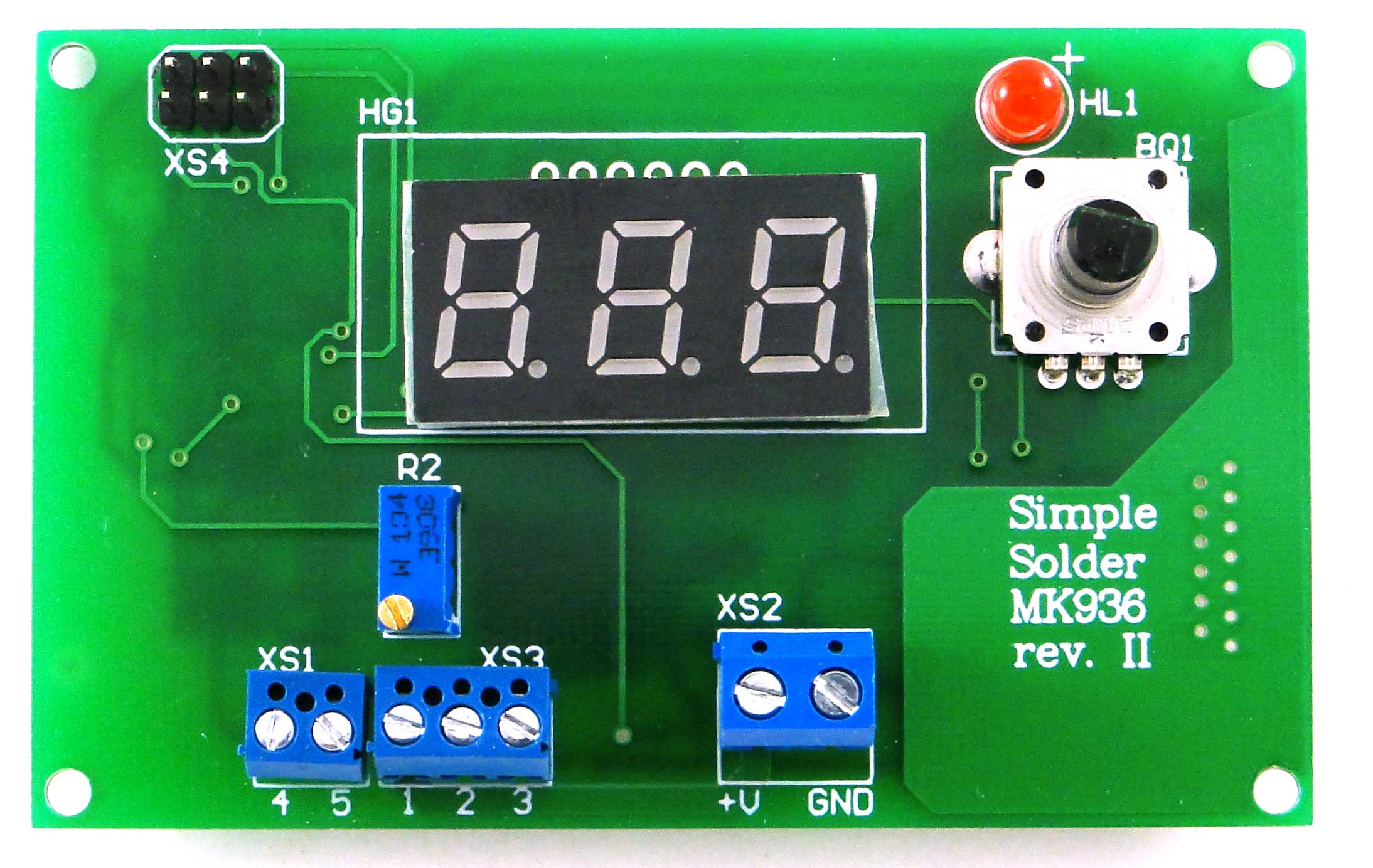 Simple Solder MK936 SMD. Паяльная станция на SMD-компонентах своими руками - 8