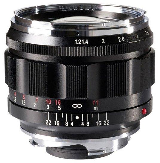 Названа цена и срок начала продаж объектива Voigtlander Nokton 50mm F1.2 Aspherical VM