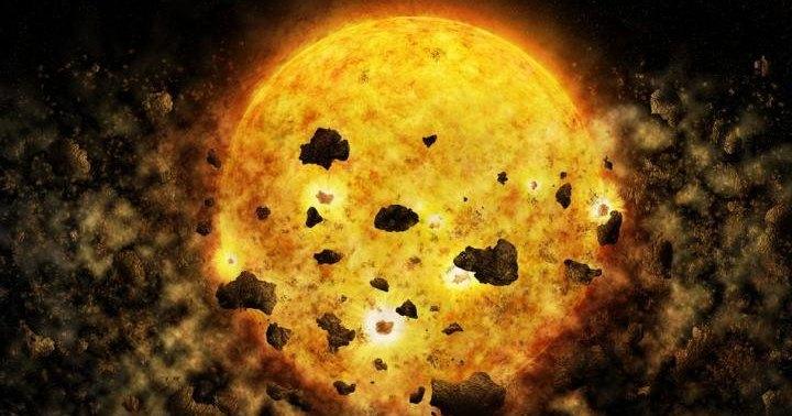 Ученые впервые наблюдали, как звезда поглощает планету