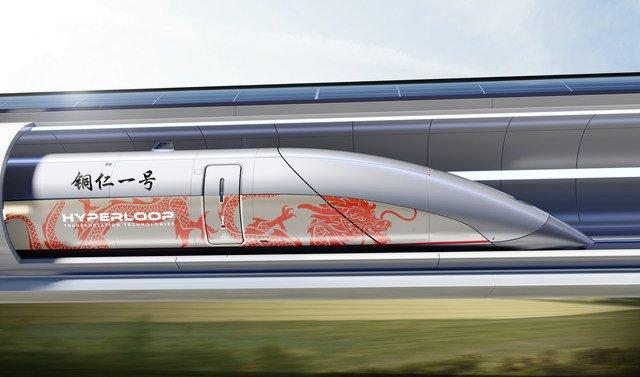 Hyperloop Transportation Technologies построит первую в Китае коммерческую линию «вакуумного поезда»