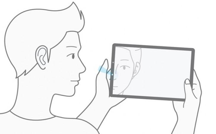 Планшет Samsung Galaxy Tab S4 будет распознавать пользователей не только по радужной оболочке, но и по лицам