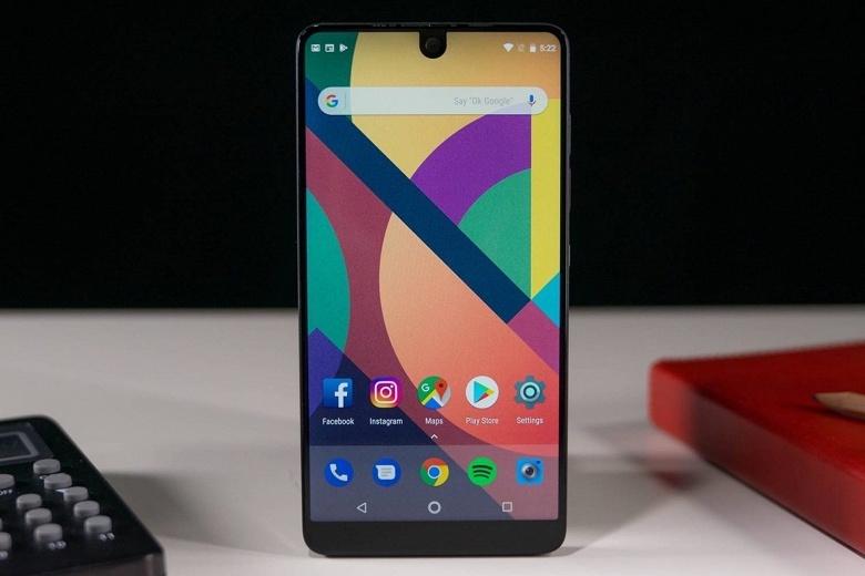 Смартфон Essential Phone получит обновление до Android Q