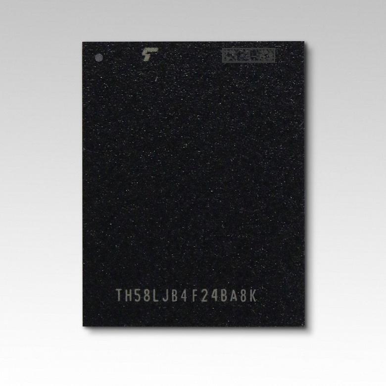 У Toshiba Memory готов прототип 96-слойной флэш-памяти QLC NAND — 2,66 ТБ в одной микросхеме