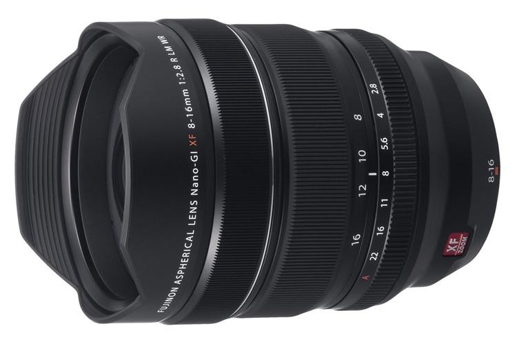 Объектив Fujinon XF 8-16mm F2.8 R LM WR обойдётся в $2000