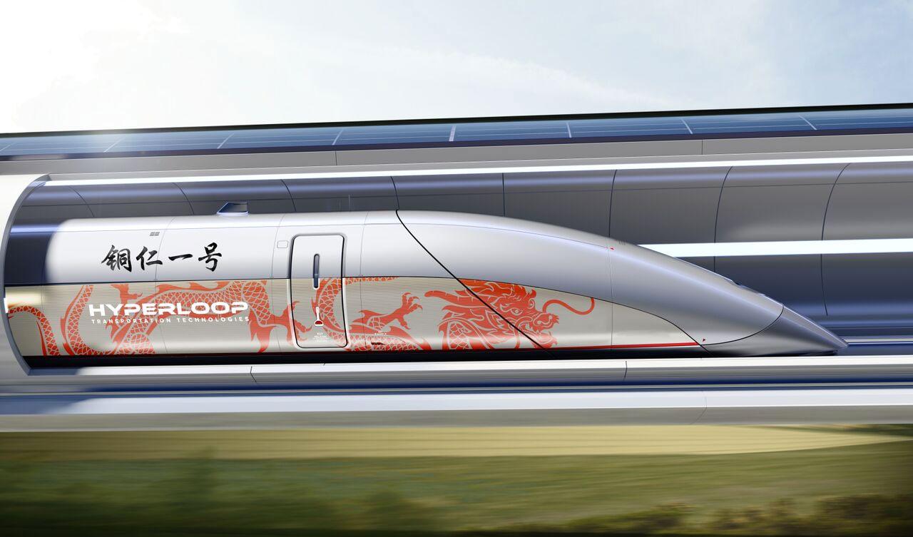 Hyperloop TT построит коммерческую трассу в Китае - 1
