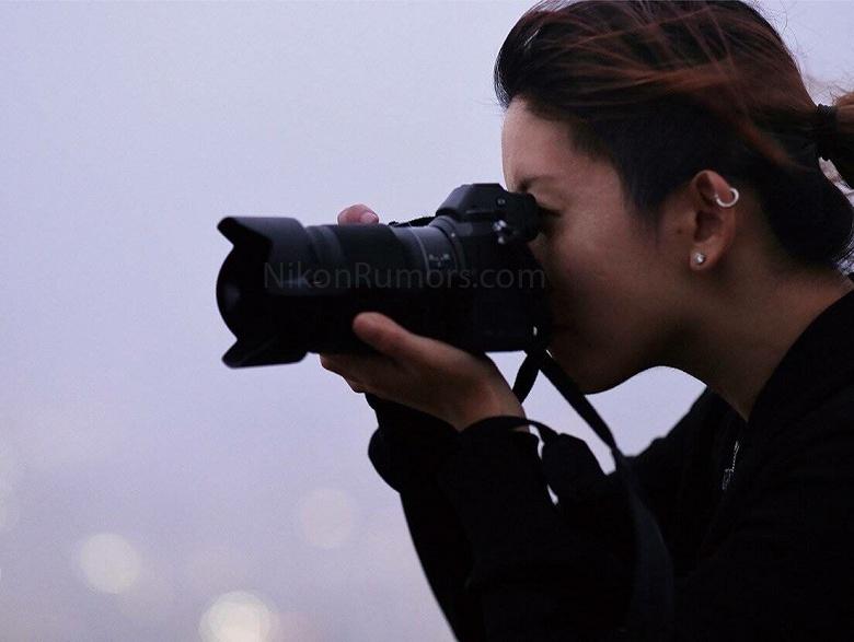 Появилось первое фото беззеркальной камеры системы Nikon Z