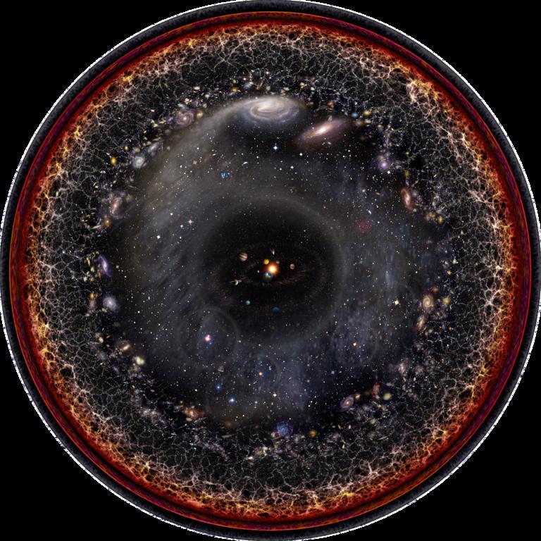 Современная картина устройства Вселенной