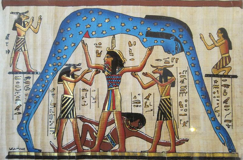 Устройство мира у древних египтян