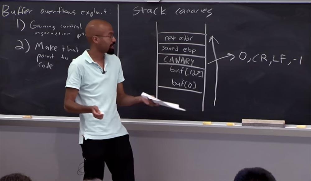 Курс MIT «Безопасность компьютерных систем». Лекция 2: «Контроль хакерских атак», часть 2 - 2