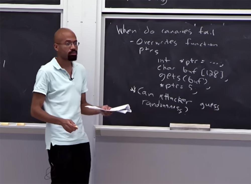 Курс MIT «Безопасность компьютерных систем». Лекция 2: «Контроль хакерских атак», часть 2 - 5