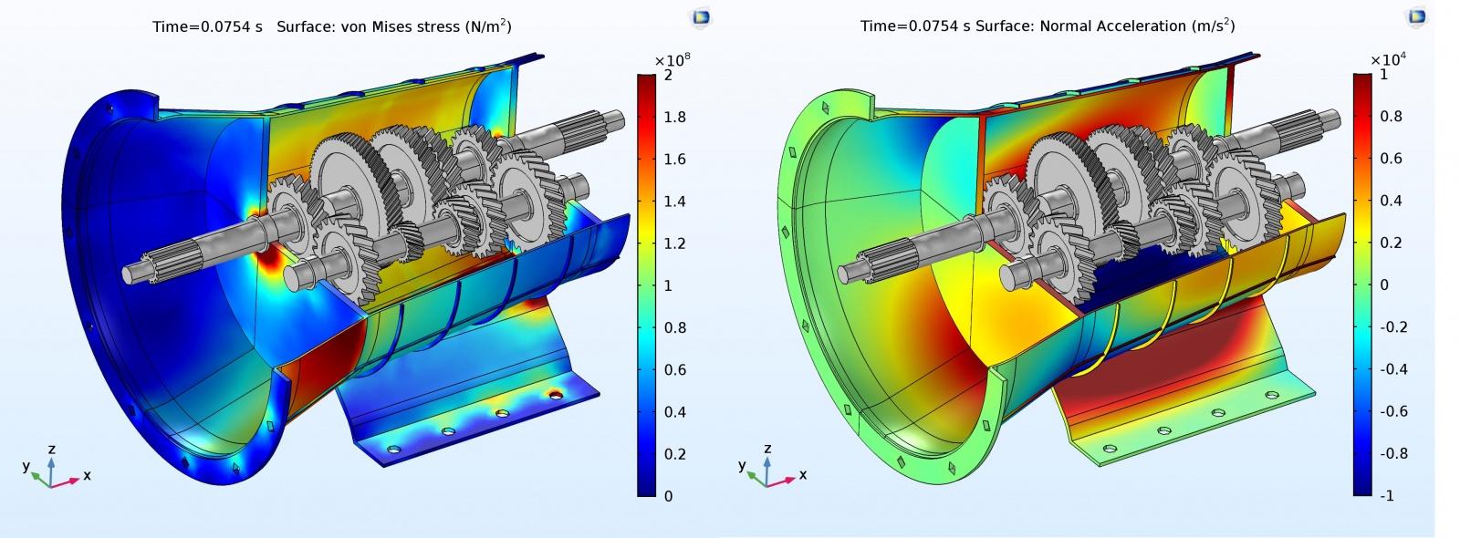 Моделирование вибраций и шума в коробке передач автомобиля - 3