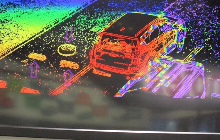 Kyocera совместила автомобильный лидар с видеокамерой