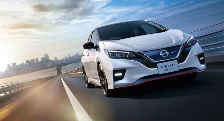 Nissan Leaf NISMO: электрокар со спортивным характером