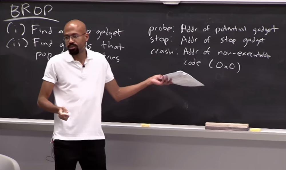 Курс MIT «Безопасность компьютерных систем». Лекция 3: «Переполнение буфера: эксплойты и защита», часть 3 - 3