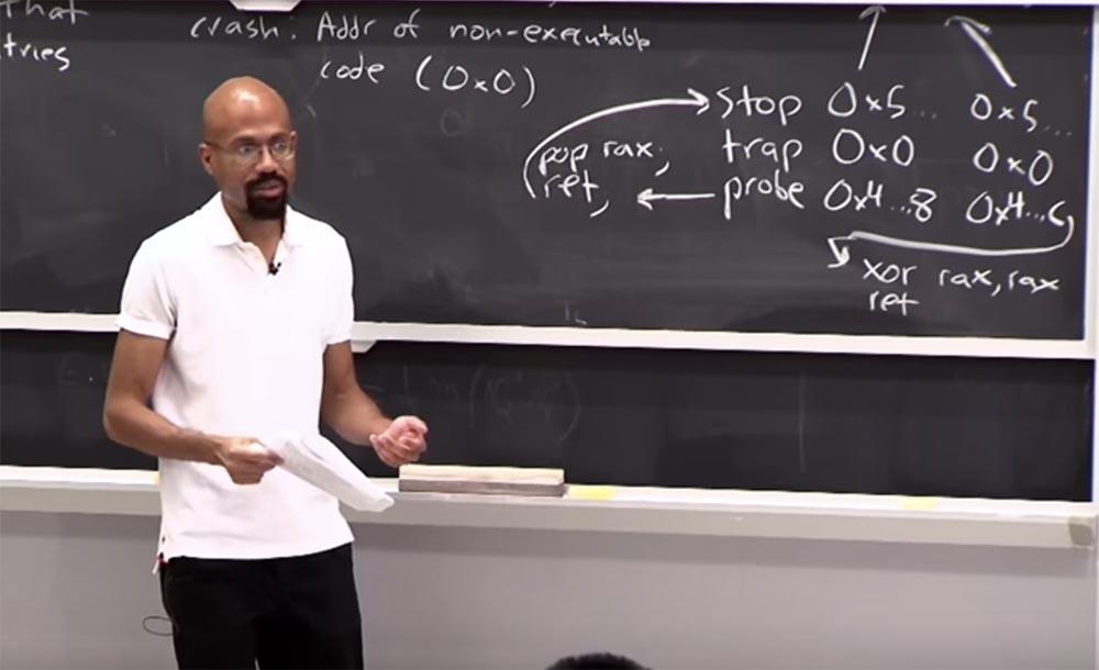 Курс MIT «Безопасность компьютерных систем». Лекция 3: «Переполнение буфера: эксплойты и защита», часть 3 - 5