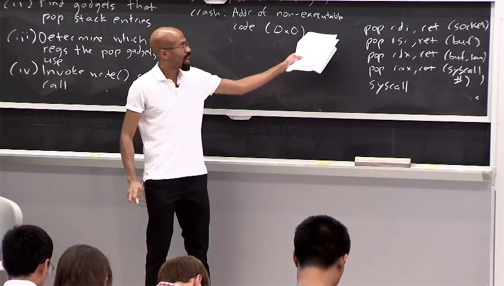 Курс MIT «Безопасность компьютерных систем». Лекция 3: «Переполнение буфера: эксплойты и защита», часть 3 - 8