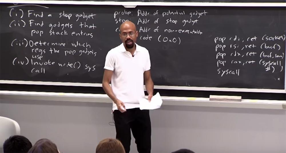Курс MIT «Безопасность компьютерных систем». Лекция 3: «Переполнение буфера: эксплойты и защита», часть 3 - 9