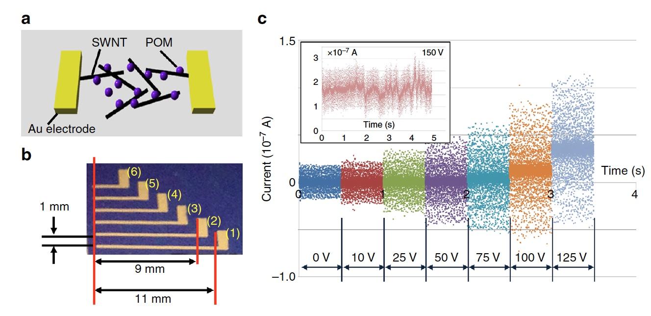 Рецепт искусственного мозга: нанотрубки, полиоксометаллат и щепотка электронов - 6