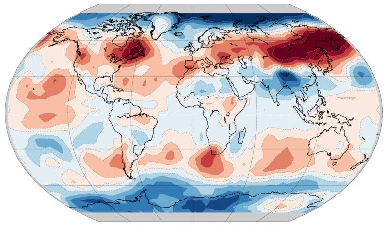 Климатологи показали, как человечество влияет на сезонные колебания температуры атмосферы - 1