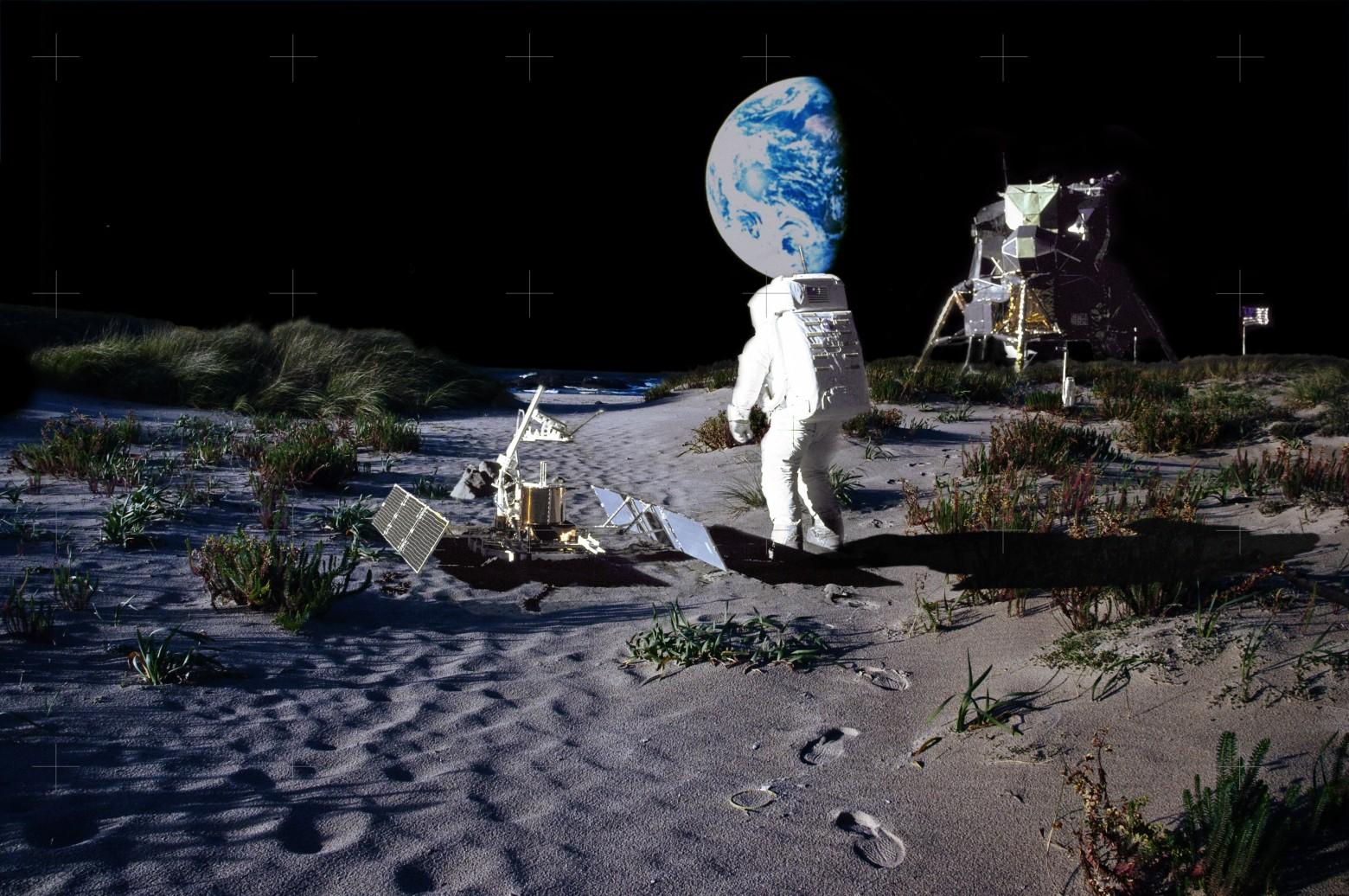 На ранней Луне могли быть вода, атмосфера и жизнь - 1