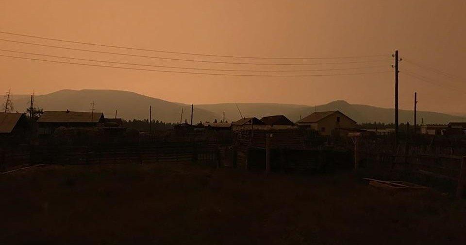 В Якутии на три часа исчезло солнце