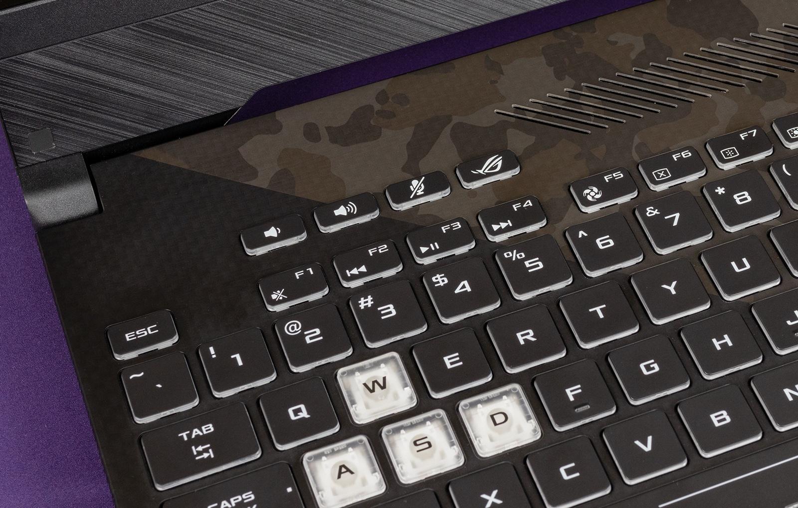 Обзор игровых ноутбуков ASUS ROG Strix GL504GS SCAR II и ASUS ROG Strix GL504GM HERO II - 25