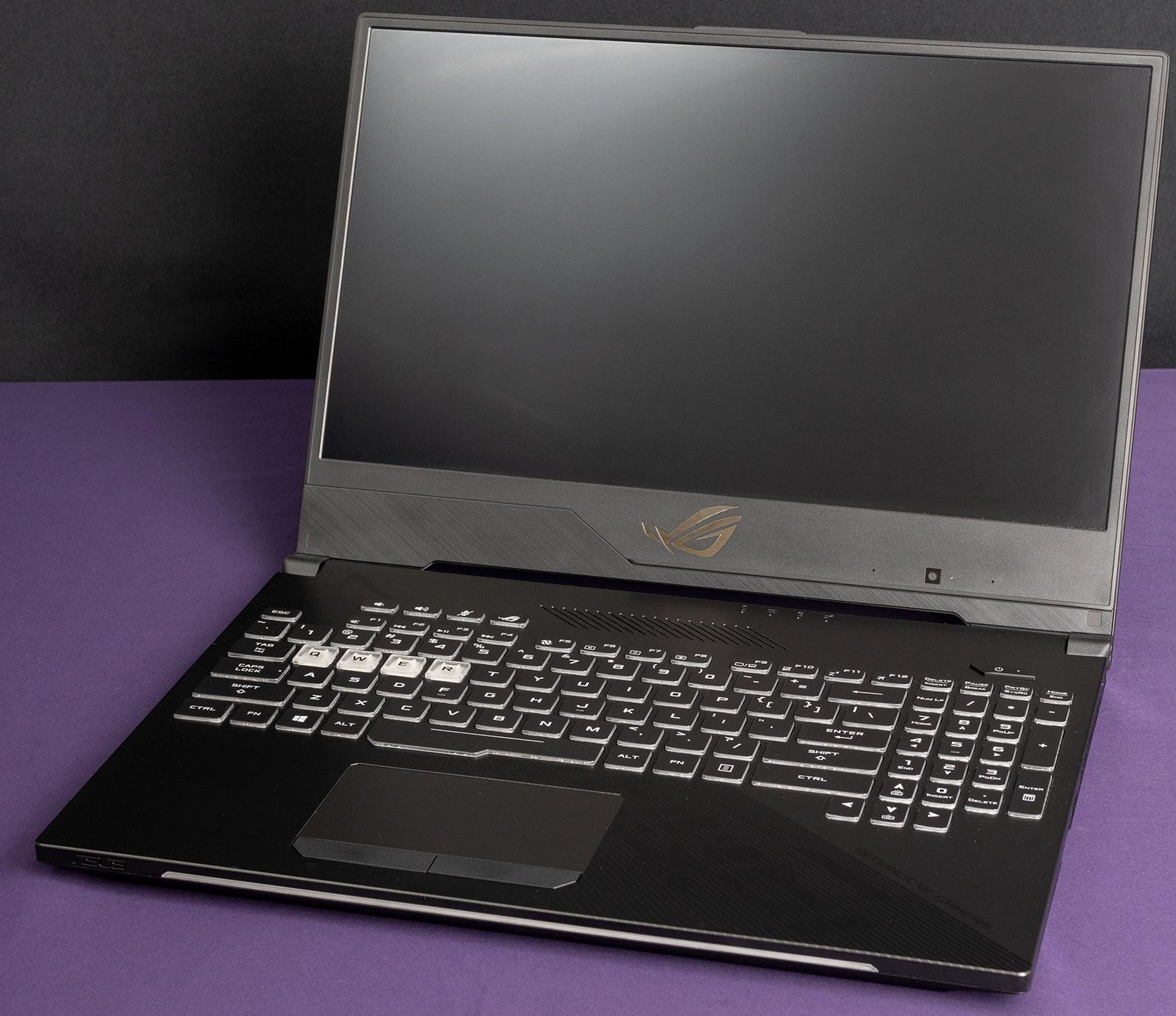 Обзор игровых ноутбуков ASUS ROG Strix GL504GS SCAR II и ASUS ROG Strix GL504GM HERO II - 32