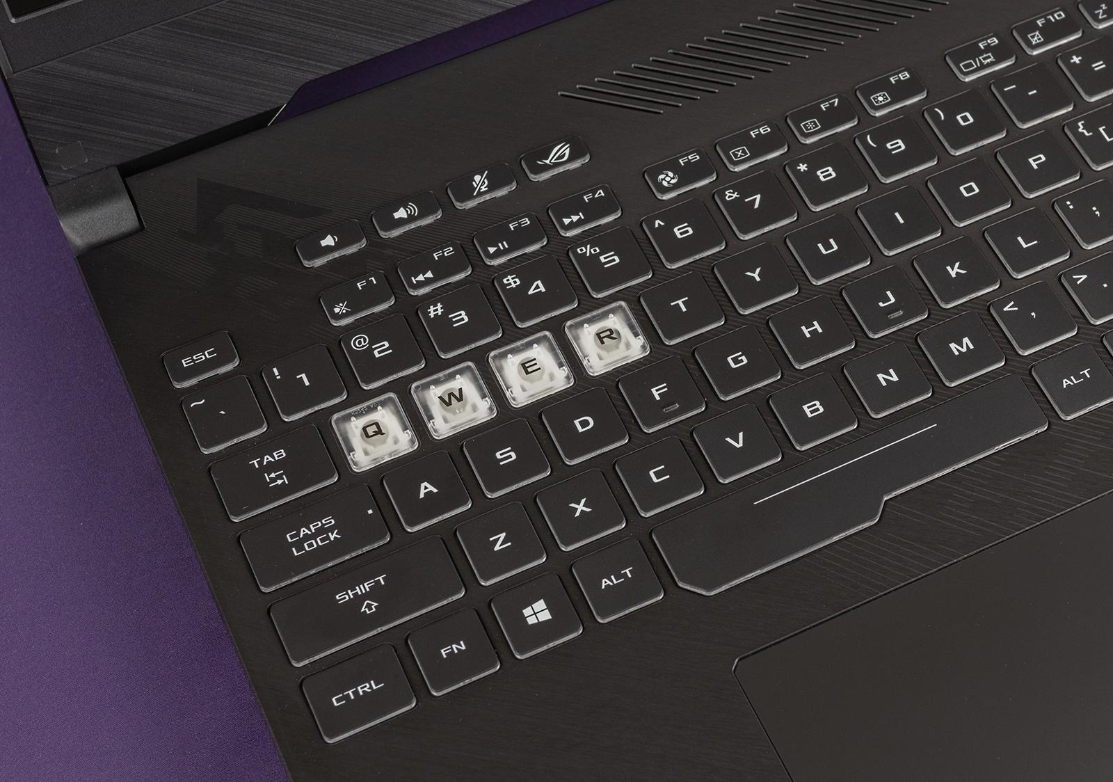 Обзор игровых ноутбуков ASUS ROG Strix GL504GS SCAR II и ASUS ROG Strix GL504GM HERO II - 35