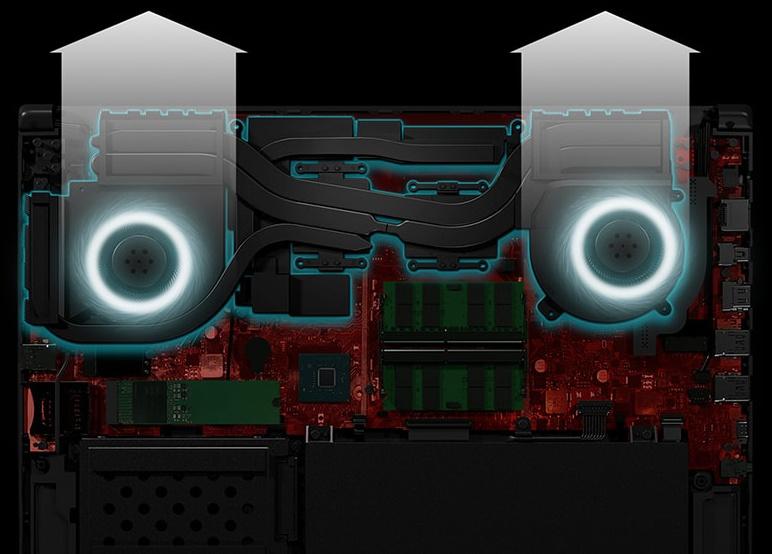 Обзор игровых ноутбуков ASUS ROG Strix GL504GS SCAR II и ASUS ROG Strix GL504GM HERO II - 41