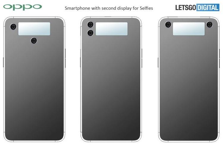 Oppo патентует смартфон с дисплеем в тыльной части