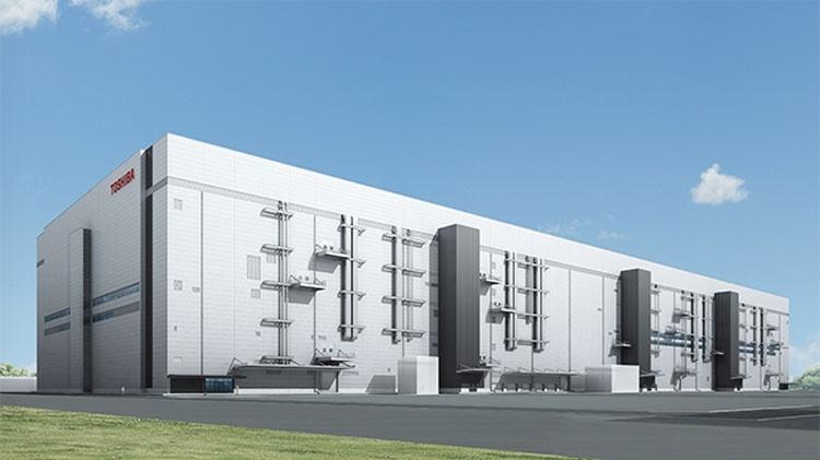 Toshiba Memory приступила к строительству нового завода по выпуску 3D NAND