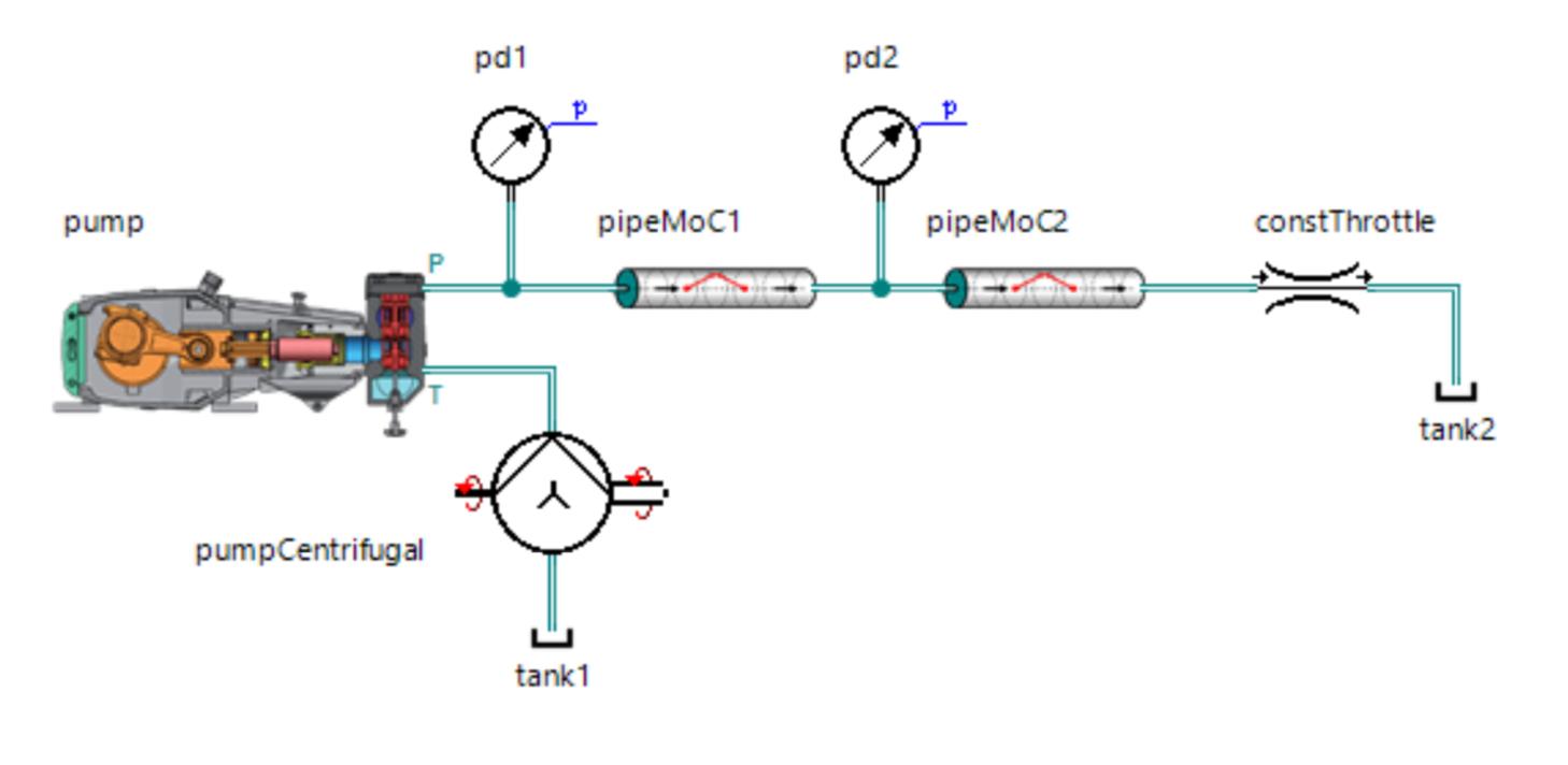 Расчёт волновых процессов в гидравлической линии методом характеристик - 46