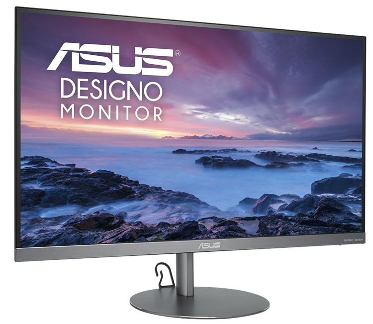 ASUS Designo MZ27AQL: тонкий монитор с аудиосистемой 2.1